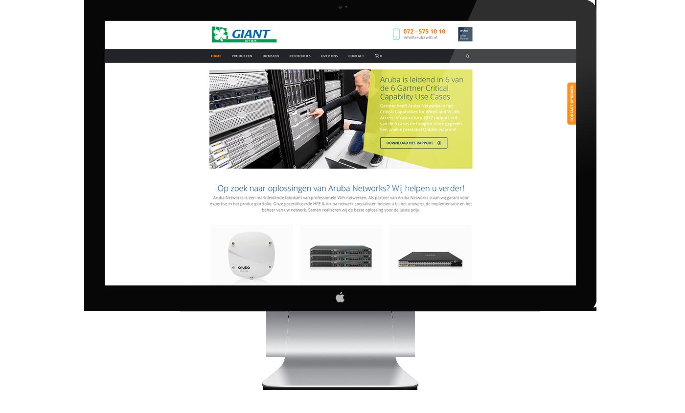 Website Aruba Wifi