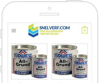 Woocommerce webshop Snelverf.com